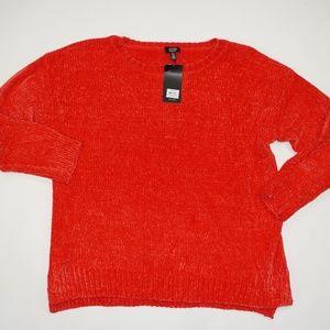 Jones New York Orange Soft Sweater